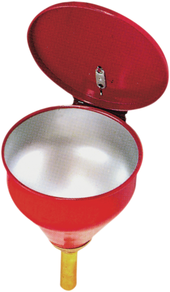 Drum funnel made from sheet steel