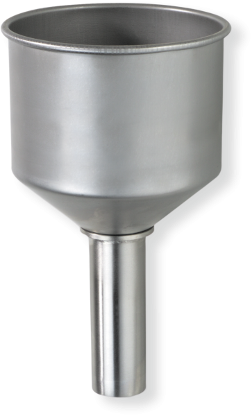 Stainless steel funnel for stainless standing can 10/25 l