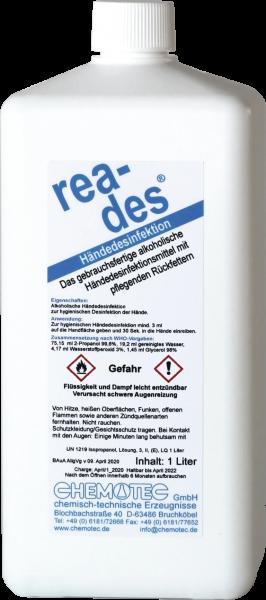 Desinfektionsmittel Gebinde 1 Liter