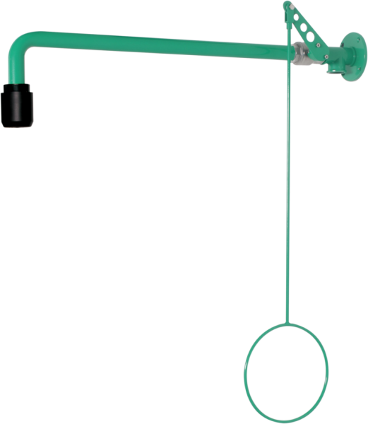 Body shower for surface wall mounting