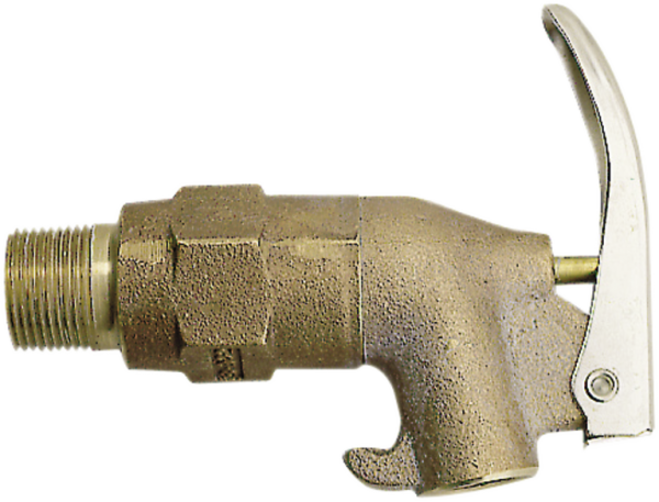 Self-closing tap made form brass, 3/4'' thread
