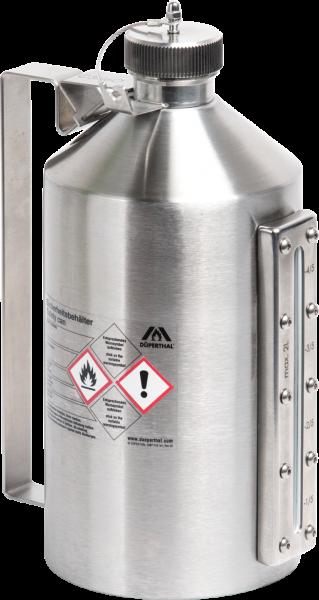 Sicherheitsbehälter VisiCon mit Schraubkappe, 2 Liter