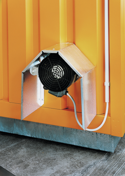 Fan, explosion-proof incl. motor protection switch
