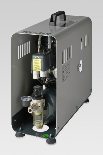 Kompressor, 6bar geräuscharm, 30dB(A)