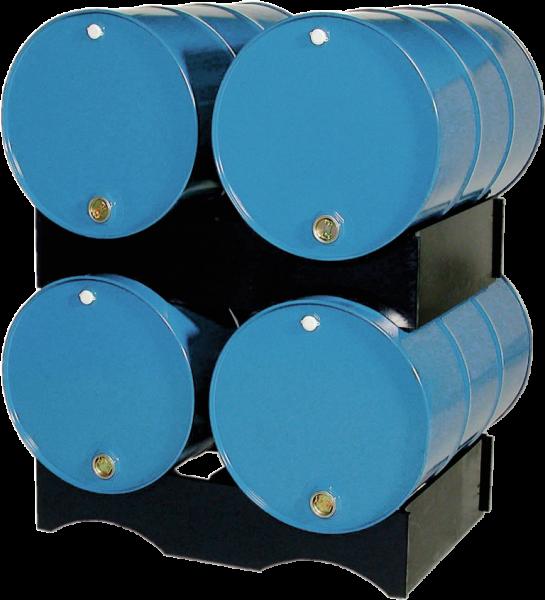 PE-Fasspalette für PE-Auffang- wannen + Bodenschutzelemente
