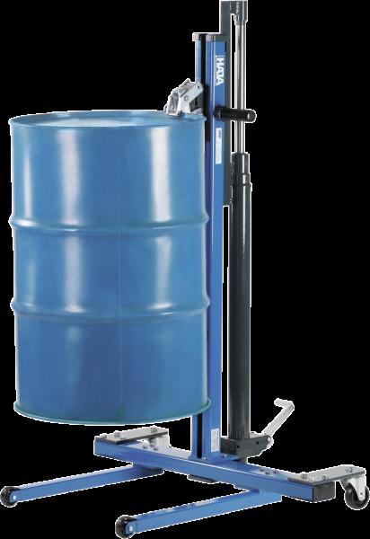 Fass-Heber, hydraulisch, Rahmen blau lackiert