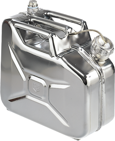 Multi-purpose transport can stainless steel,capacity: 5 l