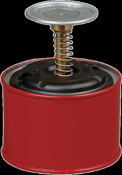 Sparanfeuchter aus Stahlblech Inhalt: 0,5 l