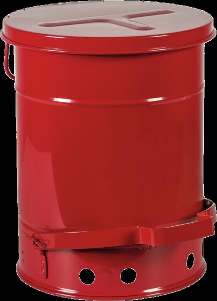 Werkbank-Sammelbehälter mit Fußpedal, Inhalt: 20 l