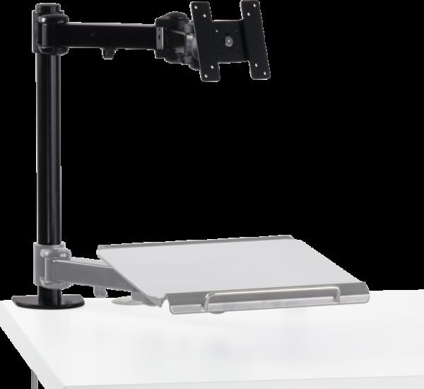 Monitor arm set (full motion) incl. bracket