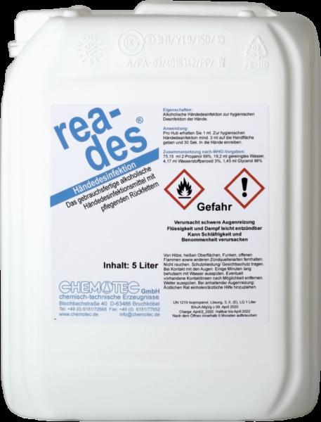 Disinfectant 5 liter container