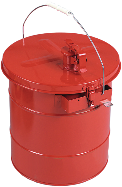 Filling can with carrying handle, for mixing of liquids