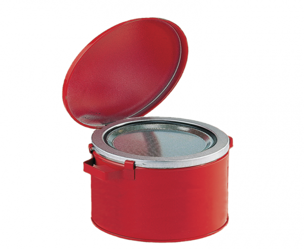 Tränkbehälter aus Stahlblech Inhalt: 12 l