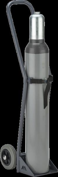 Gasflaschen-Wagen, Tragkraft 50kg f. 1x10l-Druckgasflasche