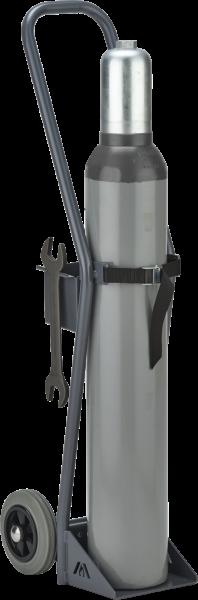 Gas cylinder trolley, load: 50 kg, for 1 x 10 l cylinder