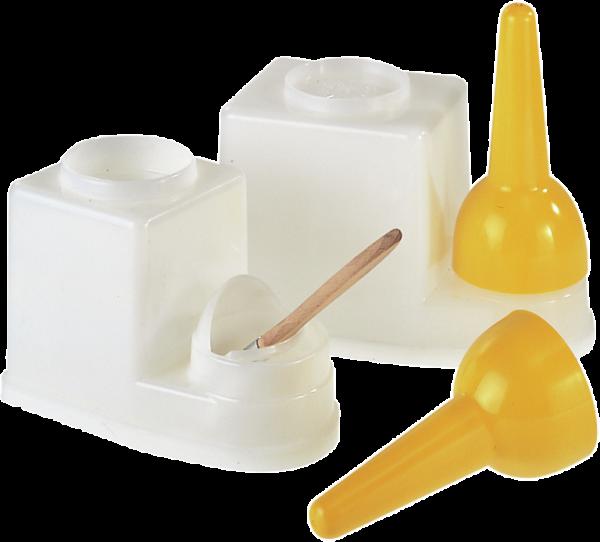 Pinselbehälter aus Polyethylen Inhalt: 0,45 l