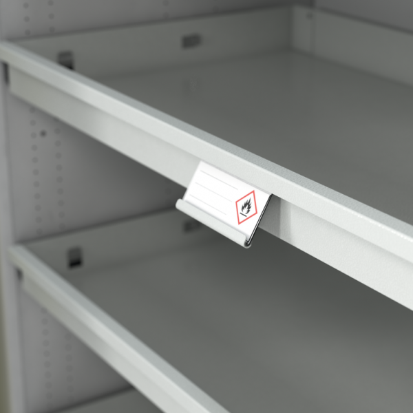 Label holder for pull-out shelf CLASSIC line pro
