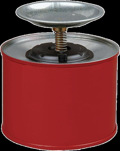 Sparanfeuchter aus Stahlblech Inhalt: 2 l