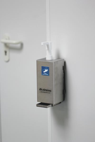 Desinfektionsmittel-Set zur Wandmontage mit Spenderhalter aus Edelstahl