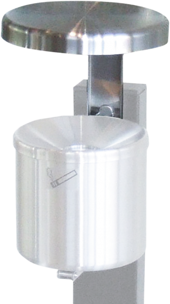 Rain protective lid, stainless steel, for art. 5.92.xxx