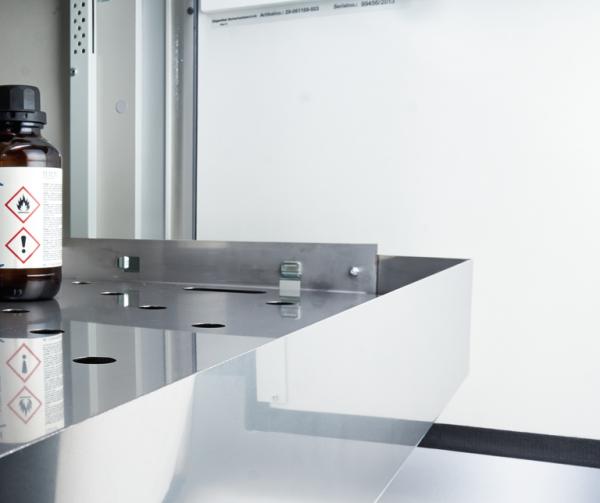 Interior fittings stainless steel, UTS ergo line S-5