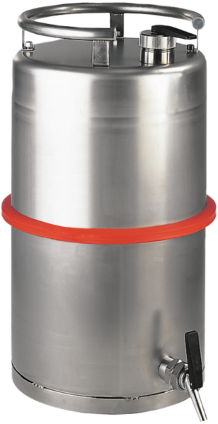 Stainless steel dispensing can capacity 25 l