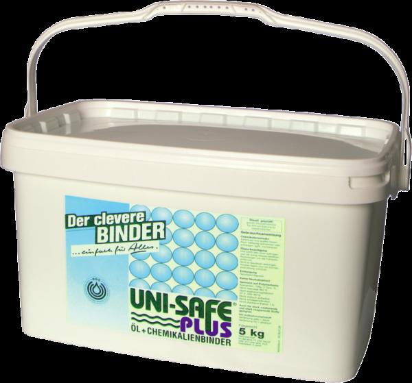 Öl- und Chemikalienbinder UNI-SAFE PLUS, 5 kg Eimer