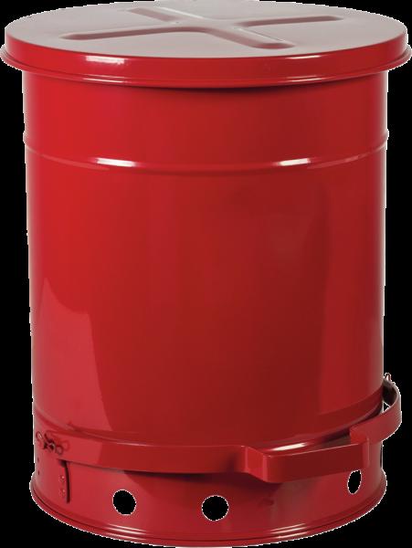Werkbank-Sammelbehälter mit Fußpedal, Inhalt: 40 l