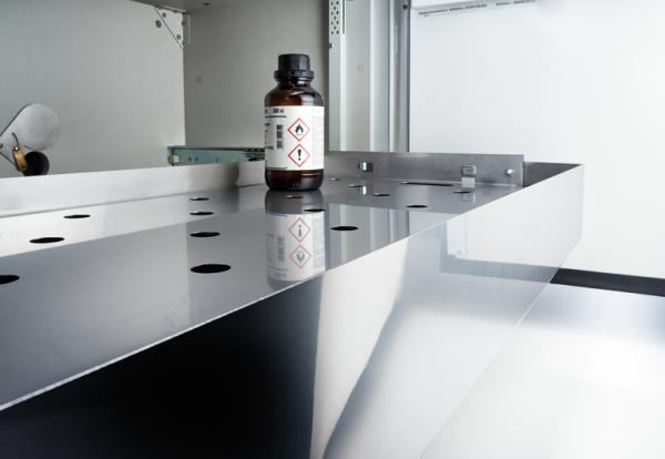 Interior fittings stainless steel, UTS ergo line LD-5