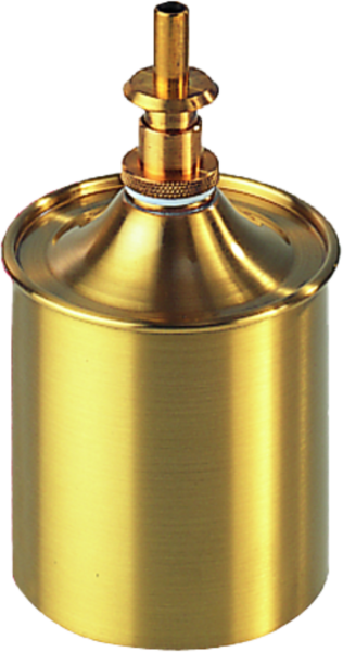 Brass metering can capacity 0,5 l