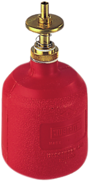 Polyethylene metering can, red capacity 0,3 l