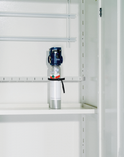 Interm. shelf for gas cylinder depot L-1 and L-2, sheet steel