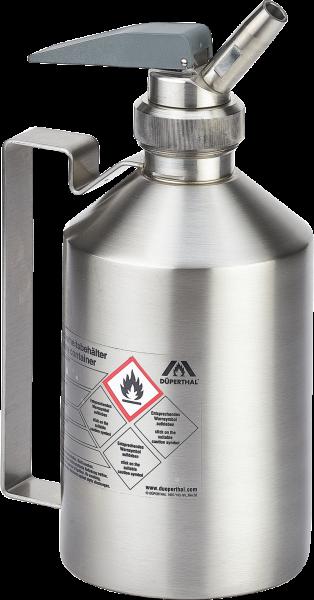 Sicherheitsbehälter VisiCon ohne Schauglas ohne Verschlusskappe mit Dosierhahn, 1 Liter