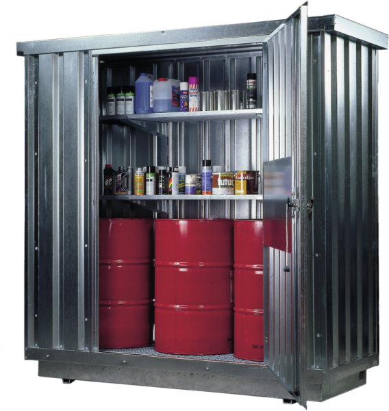 Safety storage container collection volume 300 l