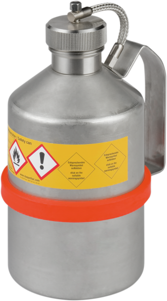 Stainless steel transport can capacity 1 l