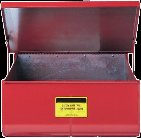 Tauchtank für Werkbänke aus Stahlblech, 48 l